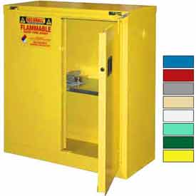 Securall® Flammable Storage Cabinets - Self Close, Safe-T-Door