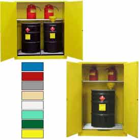 Flammable Drum Storage Cabinets At Global Industrial - Fireproof chemical cabinet