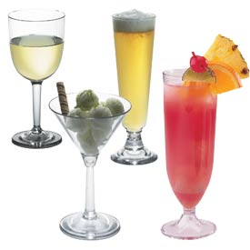 Polycarbonate Barware & Goblets