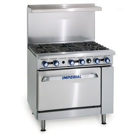 Imperial Restaurant Series Gas Ranges