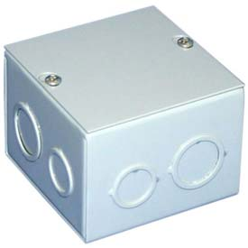 Sheet Metal Junction Boxes NEMA 1 With Lift-off Screw Cover