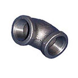 BMI Canada MBL9003 In. 90 Elbow 150# Black Malleable - 3/8 In.