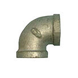 BMI Canada MGL9005 90 Elbow 150# Galvanized Malleable - 1/2''