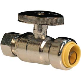 ProBite® Lead Free Brass Push-On Supply Stops