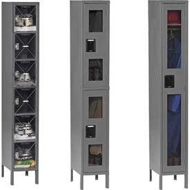 Tennsco Welded C-Thru Lockers