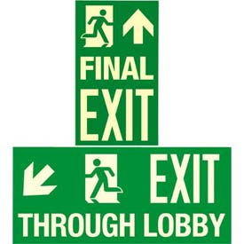 Permalight® Photoluminescent Exit Signs