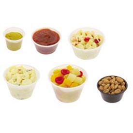 Plastic Soufflé/Portion Cups & Lids