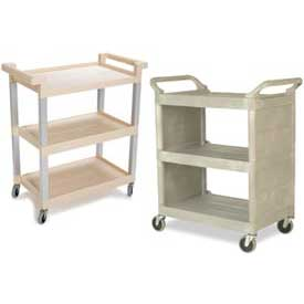 rubbermaid 3shelf plastic utility carts
