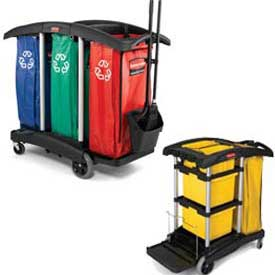 Rubbermaid® Safety Supply Carts