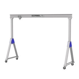 Gorbel® Adjustable Height Aluminum Gantry Cranes