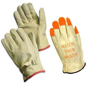 Unlined Leather Driver's Gloves