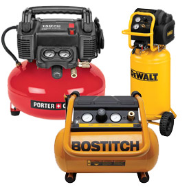 Hand Carry & Portable Air Compressors
