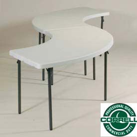 Correll -  Blow Molded Plastic Folding Tables