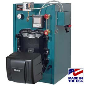 Burnham® MegaSteam Oil Cast Iron Steam Boiler