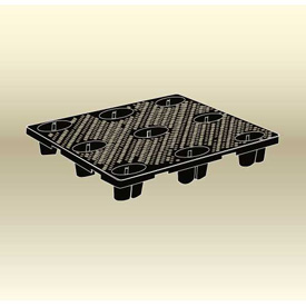 MasonWays™ Plastic Nestable Full Size Economy Pallets