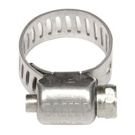 "Mini Hose Clamp - 7/16"" Min - 25/32 "" Max  - 10 Pack"
