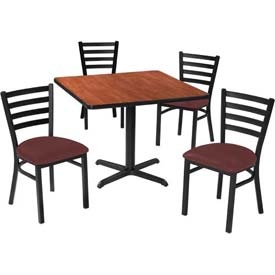 Premier Hospitality Furniture - Table & Ladder Back Chair Set