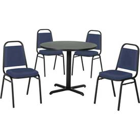 Beautiful Premier Hospitality Furniture   Table U0026 Economy Stack Chair Set