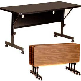 Correll - Deluxe Commercial Line Flip Top Training Tables