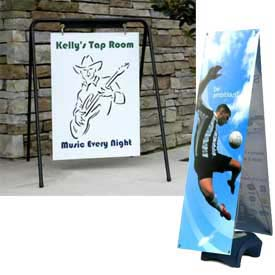 SpeedPress® - Banner & Sign Stands