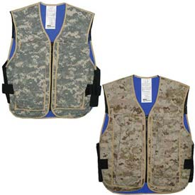 Hybrid Cooling Military Vests