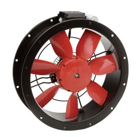 Compact Wall And Duct Axial Fans