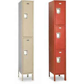 Penco Guardian Double & Triple Tier 1-Wide Steel Lockers
