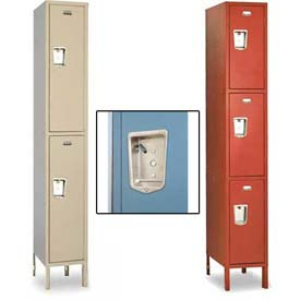 Penco Guardian Defiant II Double & Triple Tier 1-Wide Steel Lockers