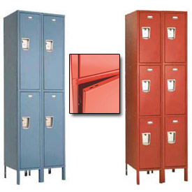 Penco Guardian Plus Double & Triple Tier 2-Wide Steel Lockers