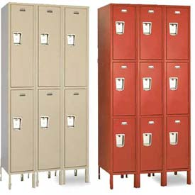 Penco Guardian Double & Triple Tier 3-Wide Steel Lockers