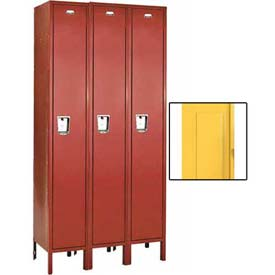 Penco Guardian Medallion Single Tier 3-Wide Steel Lockers