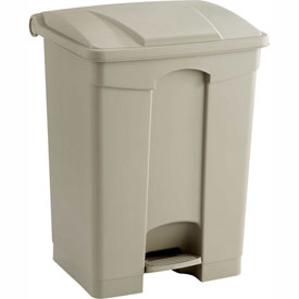 Carlisle & Safco® Plastic Step On Waste Containers