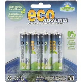 ECOAlkaline™ Batteries