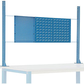 Risers With Workbench Louver And Pegboard Panels