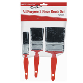 "Value Series Poly 4"" Wall Paint Brush - 99031740 - Pkg Qty 12"