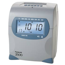 Manual & Electronic Time Clocks & Stamps