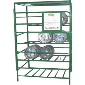 Gas Cylinder Storage Cage - Steel