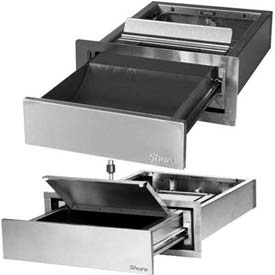 UL® Approved Bullet Resistant Extending Deal Trays