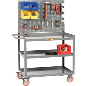 Little Giant® Mobile Workstations with Pegboard