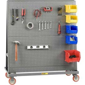 Little Giant® Mobile Pegboard Lean Tool Racks