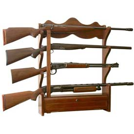 American Furniture Classics Wood Gun Wall Rack