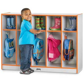 Kids Coat Lockers With Colored Edge