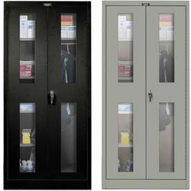 Hallowell Safety-View Door Combination Cabinets