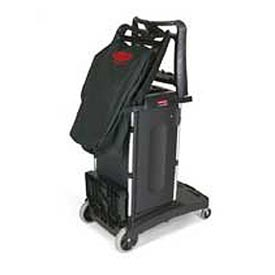 Rubbermaid® Compact Folding Housekeeping Cart 9T76