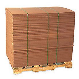 "Corrugated Sheet 40"" x 40"" 200lb. Test/ECT-32 - 5 Pack"