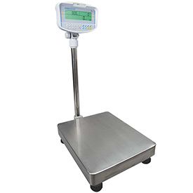"Adam Equipment GFC660a Digital Floor Counting Scale 660lb x 0.05lb 15-11/16"" x 19-11/16"" Platform"