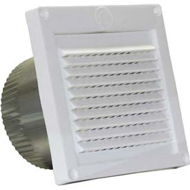 Speedi-Products Micro Louver Eave Vent EX-EVML-03 White 3""