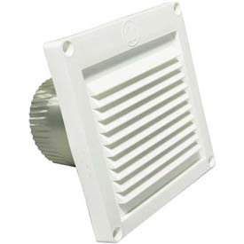 Speedi-Products Micro Louver Eave Vent EX-EVML 04 White 4""