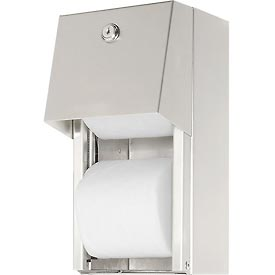 Frost Multi-Roll Standard Toilet Tissue Holder - Stainless Steel - 165