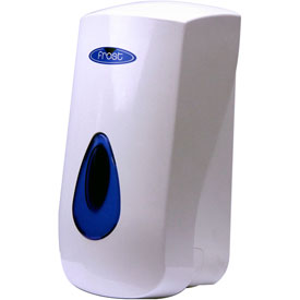 Frost Wall Mount Manual Plastic Lotion Soap Dispenser - White - 707